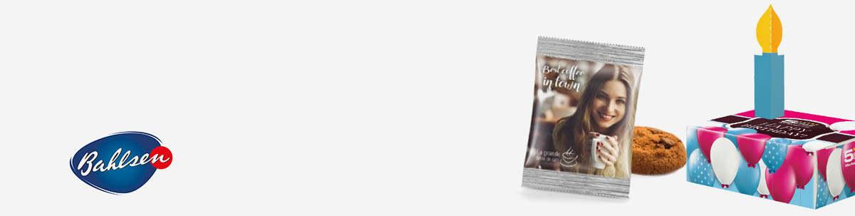 Bahlsen-Gebäck als Werbeartikel