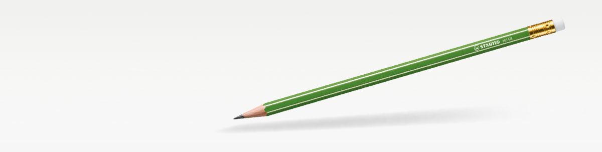 Bleistifte und Grafitstifte aus Holz