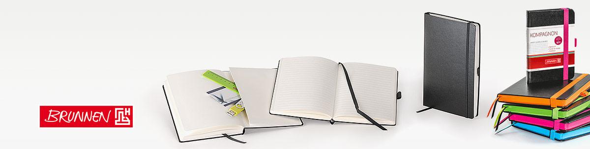 Brunnen Notizbuch Werbegeschenk