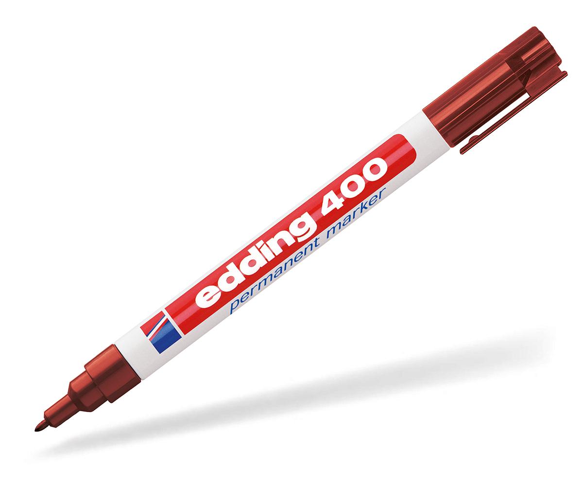edding 400 permanentmarker werbung braun dein pen. Black Bedroom Furniture Sets. Home Design Ideas