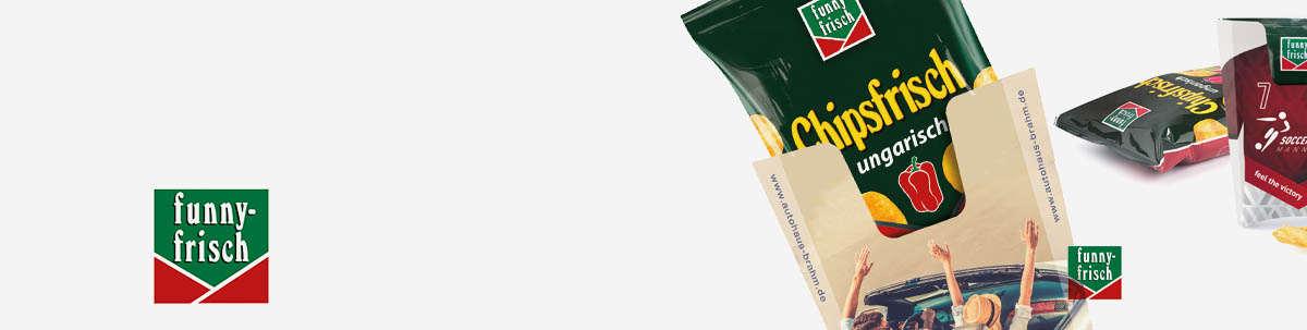 Funny Frisch Chips als Werbegeschenk