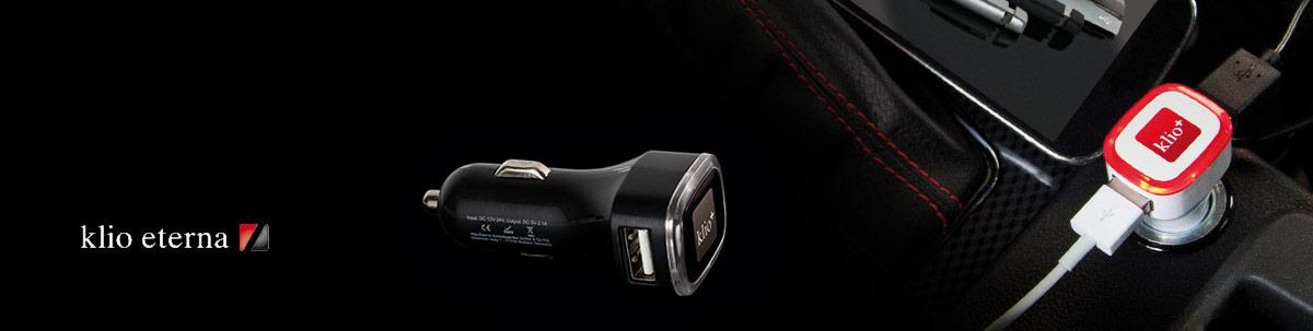 Klio+ USB Kfz Adapter Werbemittel