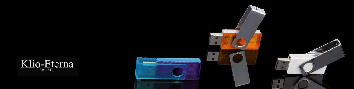 Klio TWISTA USB Stick bedrucken lassen