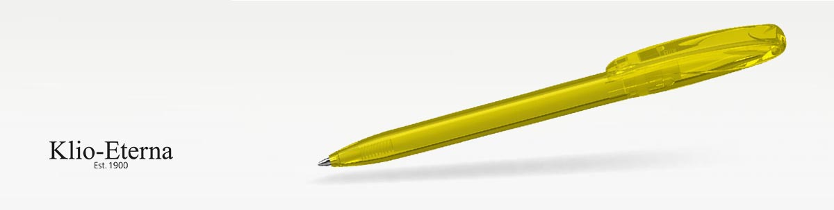 Klio BOA transparent Kugelschreiber