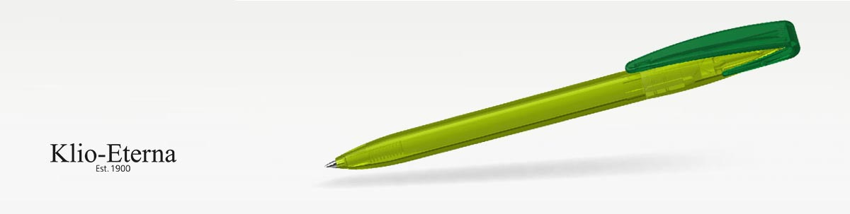 Klio COBRA transparent Kugelschreiber