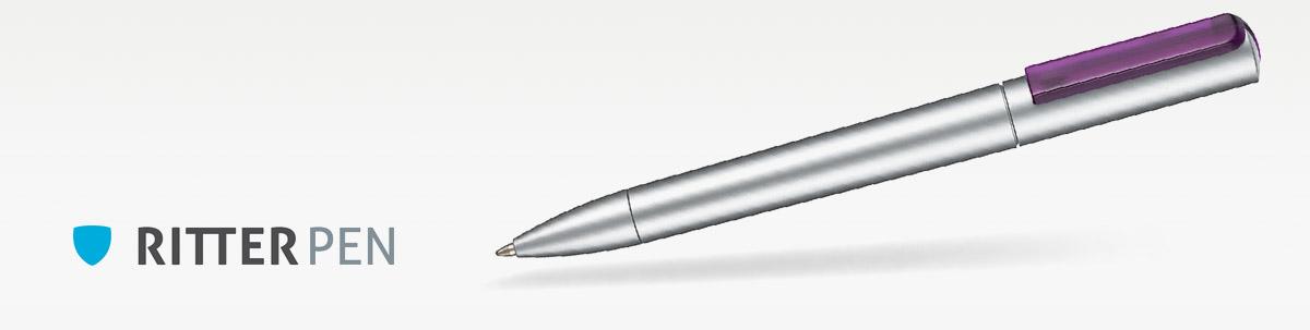 Ritter Pen Split silber