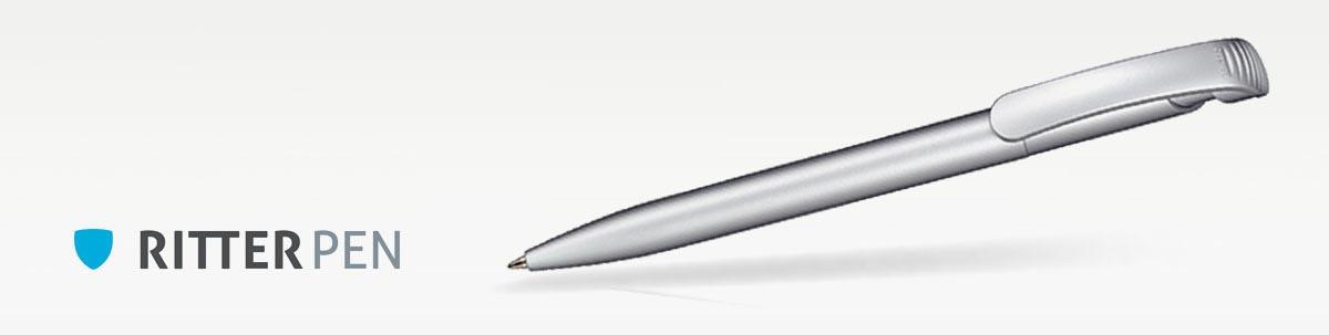 Ritter Pen Clear Silver Kugelschreiber
