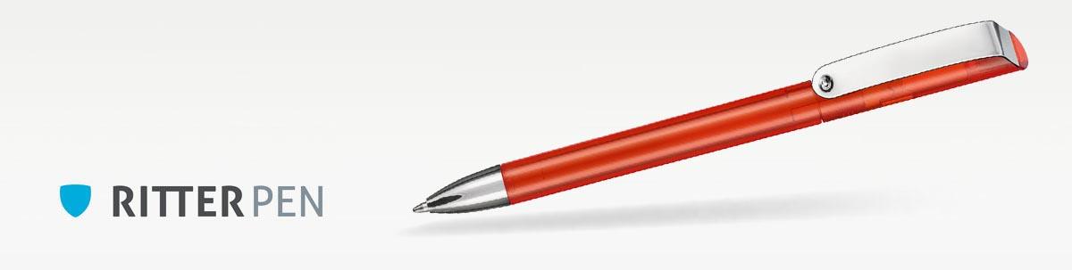 Ritter Pen Glossy Transparent Kugelschreiber