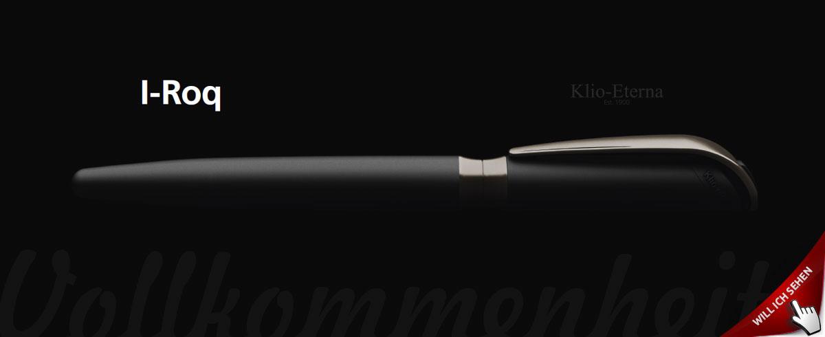 Klio eterna Rollerball I-roq als Werbegeschenk bedrucken lassen