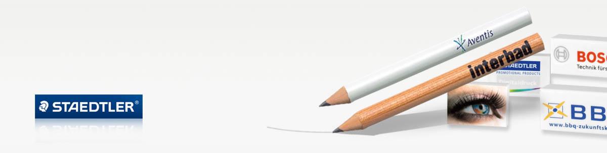 STAEDTLER Bleistifte & Radierer mit Druck