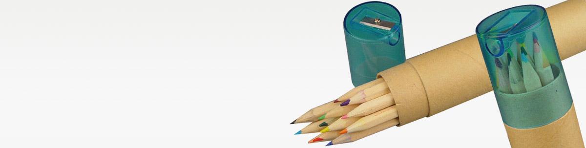 Buntstifte mit Werbeaufdruck
