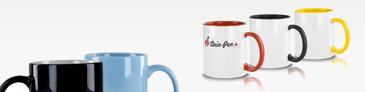 Tassen und Kaffeebecher Werbeartikel