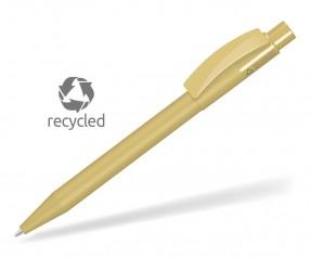 UMA PIXEL RECY 0-0017 Recycling Kugelschreiber beige