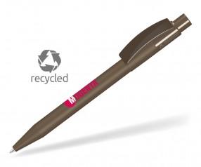 UMA PIXEL RECY 0-0017 Recycling Kugelschreiber braun