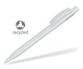 UMA PIXEL RECY 0-0017 Recycling Kugelschreiber grau