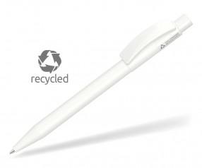 UMA PIXEL RECY 0-0017 Recycling Kugelschreiber weiss