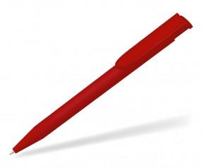 UMA HAPPY GUM 0-0037 Werbekugelschreiber gummiert rot