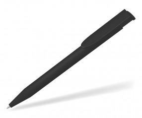 UMA HAPPY GUM 0-0037 Werbekugelschreiber gummiert schwarz