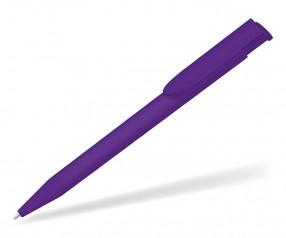 UMA HAPPY GUM 0-0037 Werbekugelschreiber gummiert violett
