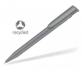 UMA HAPPY RECY 0-0037 Recycled Werbekugelschreiber grau
