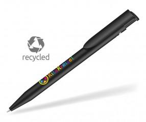 UMA HAPPY RECY 0-0037 Recycled Werbekugelschreiber schwarz