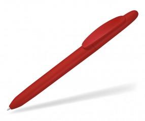 UMA ICONIC GUM 0-0057 gummierter Werbekugelschreiber rot