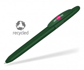 UMA ICONIC RECY 0-0057 recycling Kugelschreiber grün