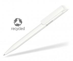UMA Kugelschreiber POP RECY 0-0071 Recycling weiss