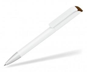 UMA Kugelschreiber EFFECT F SI 0-0086 weiss-braun