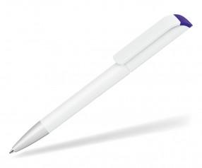 UMA Kugelschreiber EFFECT F SI 0-0086 weiss-dunkelviolett