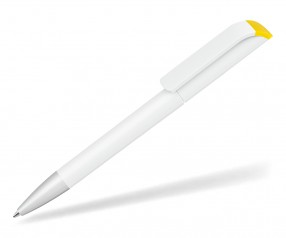 UMA Kugelschreiber EFFECT F SI 0-0086 weiss-gelb