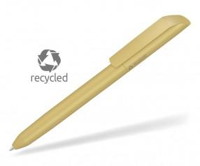 UMA VANE RECY 0-0183 Recycling Werbekugelschreiber beige