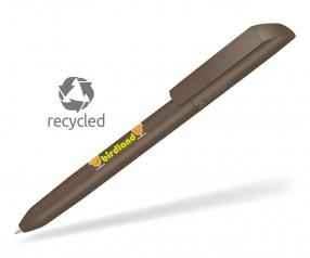 UMA VANE RECY 0-0183 Recycling Werbekugelschreiber braun