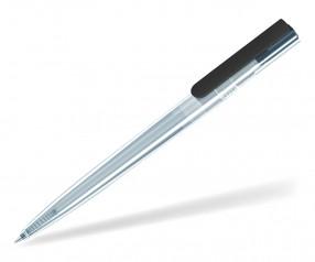 UMA RECYCLED PET PEN SWITCH 02240 T KG Kugelschreiber transparent schwarz