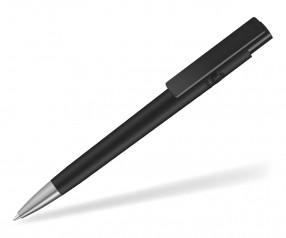UMA RECYCLED PET PEN PRO F SI 02250 Kugelschreiber matt schwarz