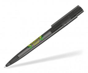 UMA RECYCLED PET PEN PRO T 02250 Kugelschreiber transparent anthrazit
