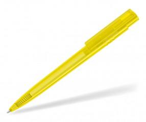 UMA RECYCLED PET PEN PRO T 02250 Kugelschreiber transparent gelb