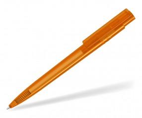 UMA RECYCLED PET PEN PRO T 02250 Kugelschreiber transparent orange