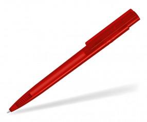 UMA RECYCLED PET PEN PRO T 02250 Kugelschreiber transparent rot