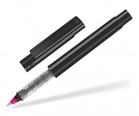 UMA RECYCLED PET PEN Roller 02252 R modularer Tintenroller schwarz magenta