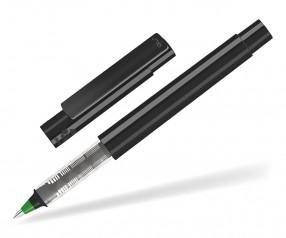 UMA RECYCLED PET PEN Roller 02252 R modularer Tintenroller schwarz mittelgrün