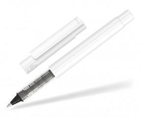 UMA RECYCLED PET PEN Roller 02252 R modularer Tintenroller weiss schwarz