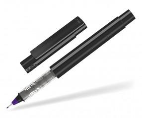 UMA RECYCLED PET PEN FL 02254 modularer Fineliner schwarz dunkelviolett
