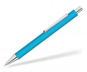 UMA Dreikantkugelschreiber PYRA GUM 09733 hellbau als Werbegeschenk