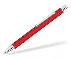 UMA Dreikantkugelschreiber PYRA GUM 09733 rot als Werbegeschenk