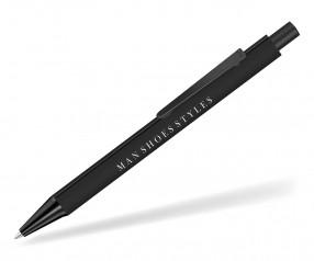 UMA Dreikantkugelschreiber PYRA M GUM 09733 schwarz als Werbegeschenk