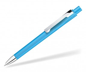 UMA CHECK 1-0142 M SI Kugelschreiber cyan