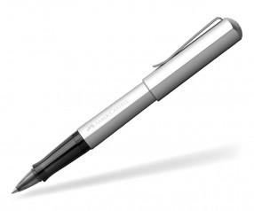 Faber-Castell HEXO Tintenroller 140515 inkl Gravur - silber