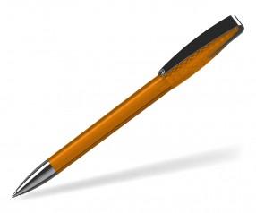 Klio Kugelschreiber 41076 COBRA structure transparent MMn OTR orange