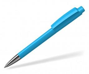 Klio Kugelschreiber ZENO HIGH GLOSS Mn TQ hellblau